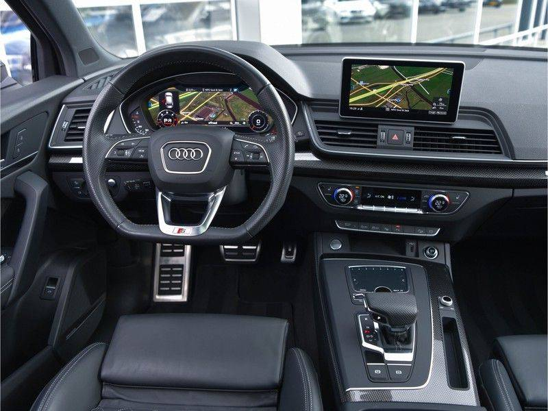 Audi Q5 3.0TDI 286 pk quattro Lucht S-Line Head-Up B&O LED Pano Standk ACC Carbon 21-Inch afbeelding 10