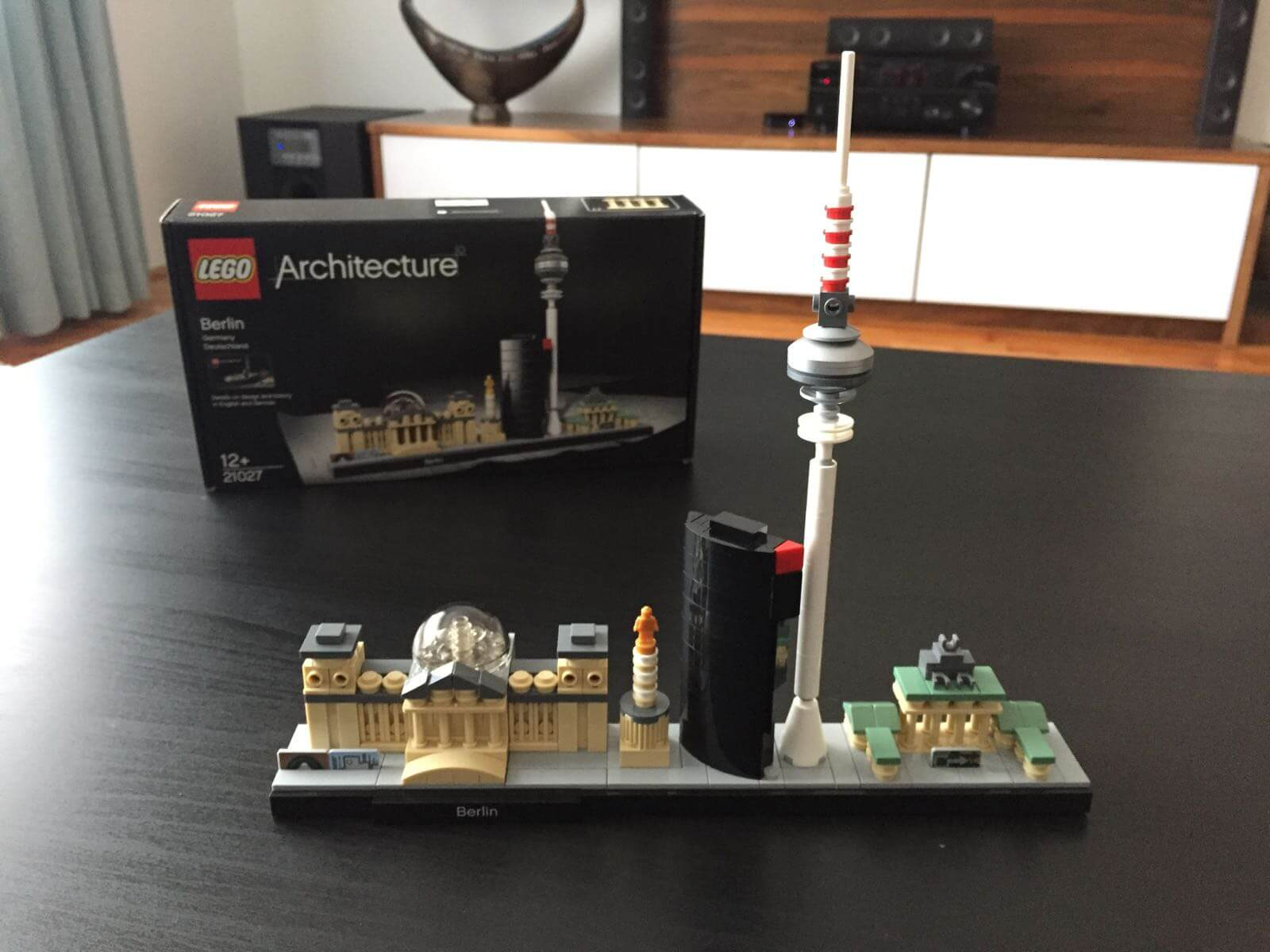 LEGO Architecture - Berlin: Built