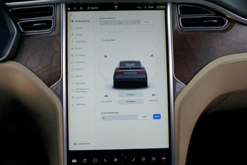 Tesla Model X 90D Base 6p. 6-Persoons / Panoramadak / Camera / Luchtvering / 112dkm NAP / NL-Auto afbeelding 21