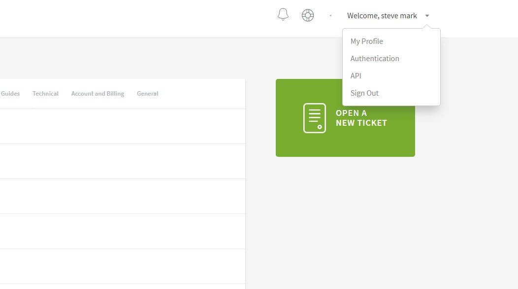 """Welcome"""" and select API"""