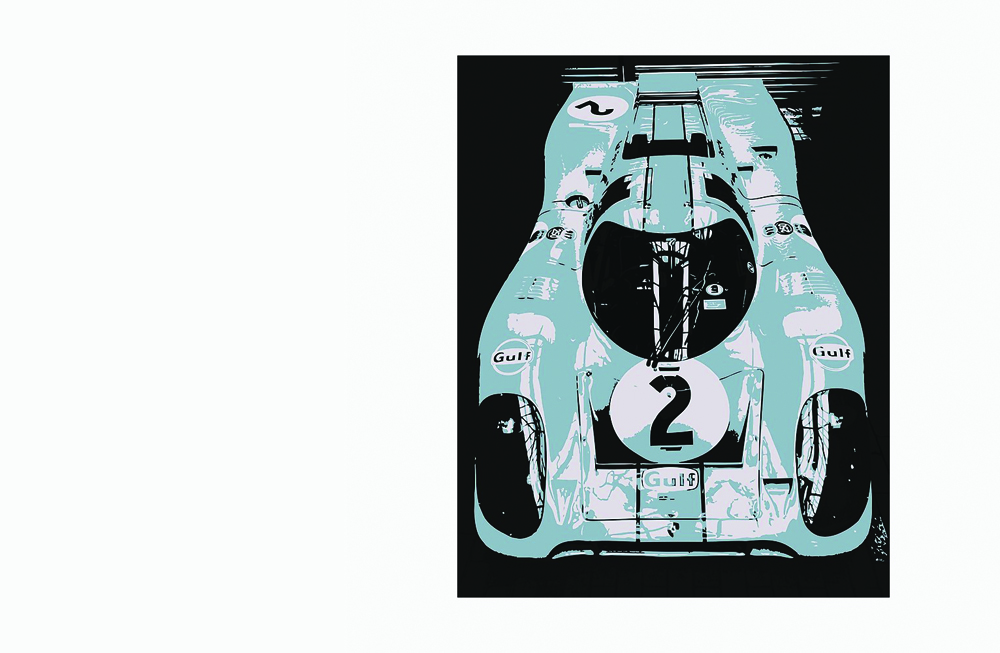Porsche 917K Photographic Print by thespeedart