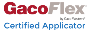 GacoFlex Certified Applicator
