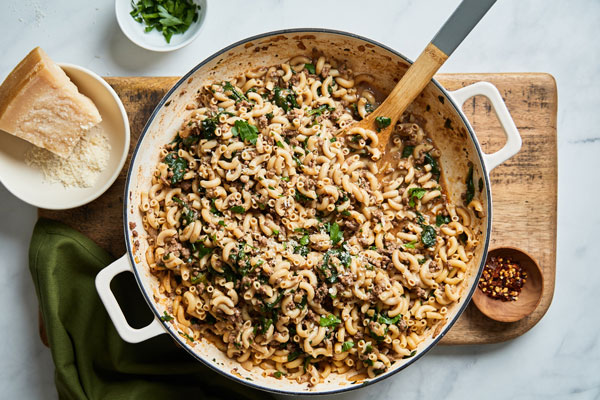 One Pot Hamburger Helper