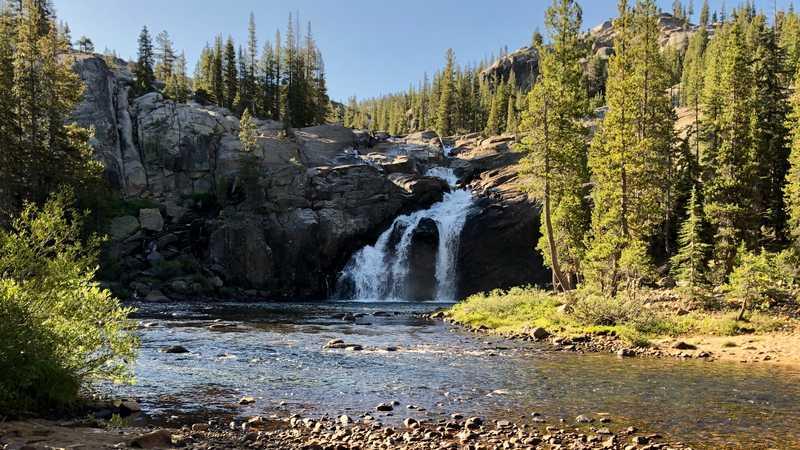 Lower Tuolumne Falls