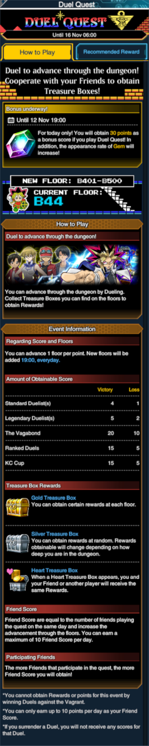 Top Five Yugioh Duel Links Events November 2018 - Circus