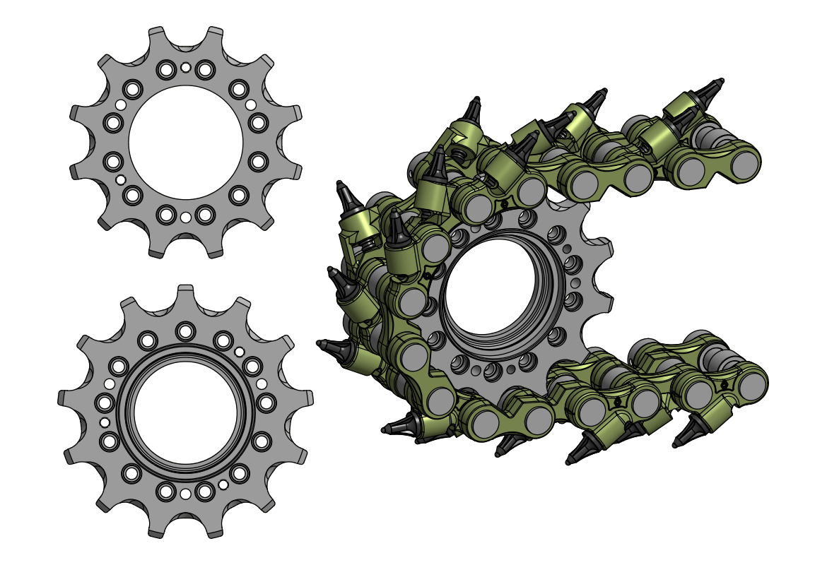 7347 12/13-tooth Sprockets