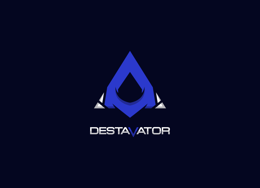 Destavator Twitch gaming logo
