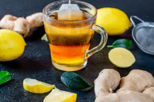 Ginger root tea joints pain relief