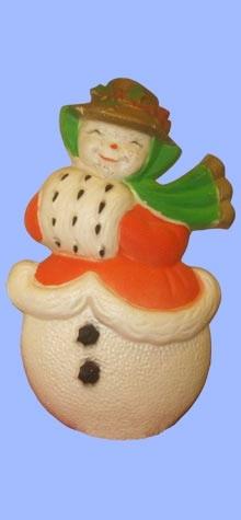 Mrs. Snowman Plaque photo