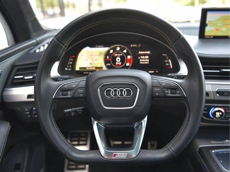 Audi SQ7 4.0TDI Quattro S-Line Individual Lucht Softcl Standk HUD M-Led Rauten Bose Alcant-hemel Leder-Dash afbeelding 16