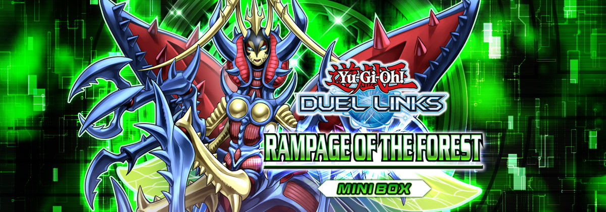 Box Review: Rampage of the Forest | YuGiOh! Duel Links Meta