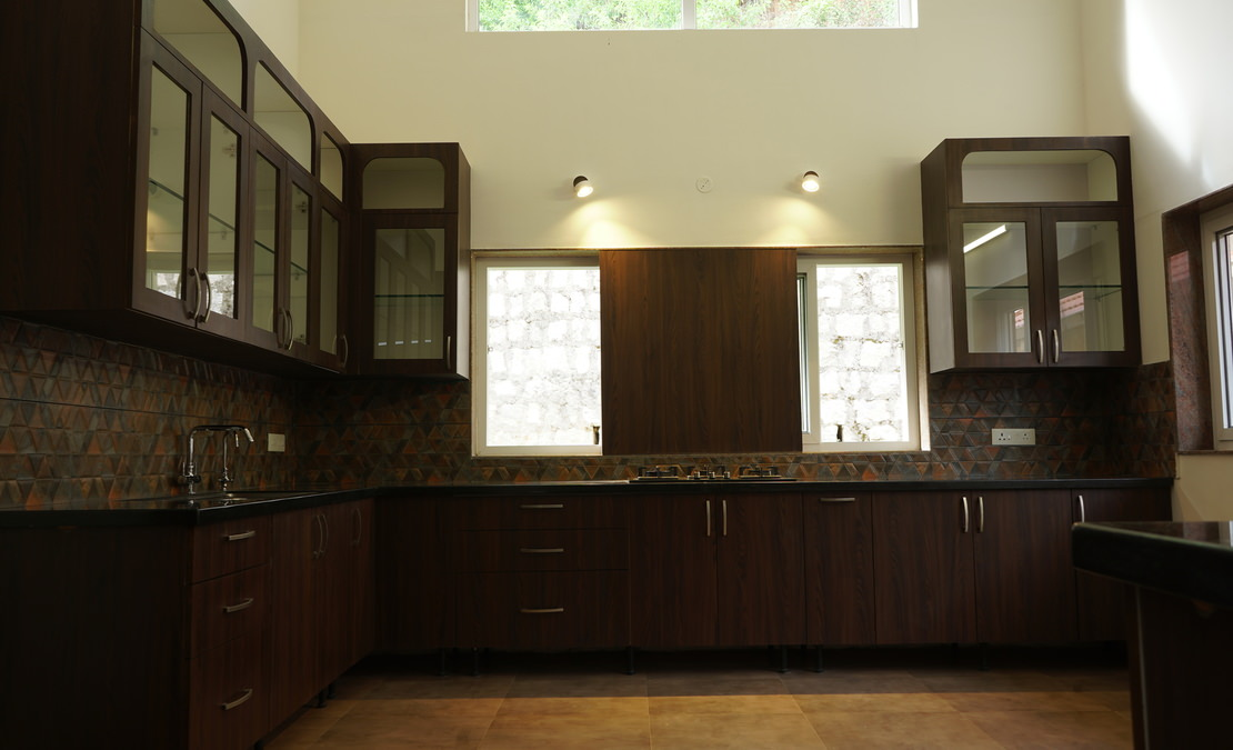 Fully furnished kitchen at Bournville