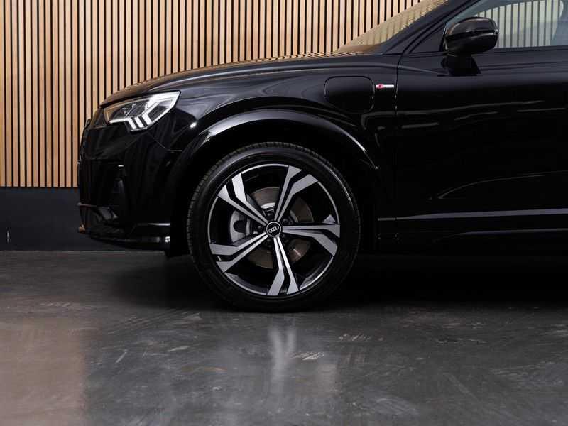 """Audi Q3 45 TFSI e S Edition 20"""", B&O, PANO, LED, B&O, S-LINE afbeelding 15"""