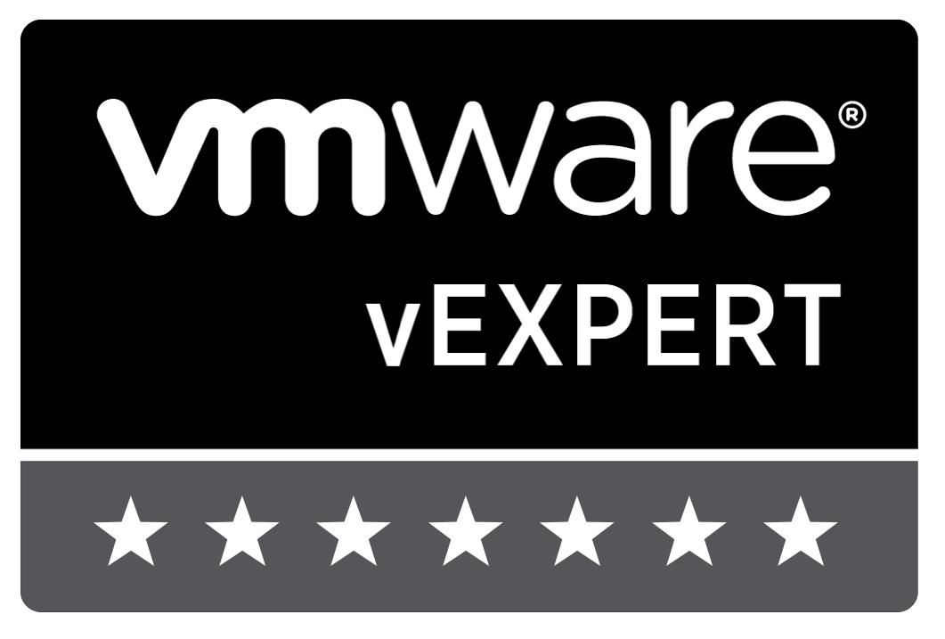 VMware vExpert Stars