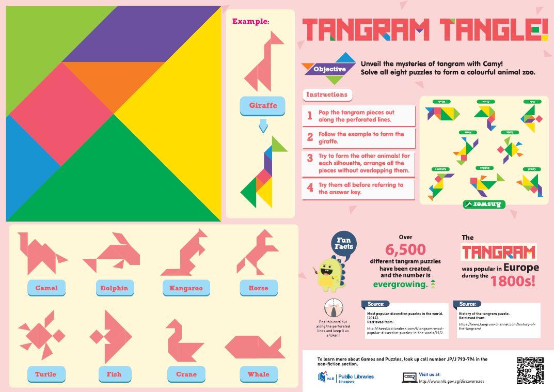 Tangram Tangle