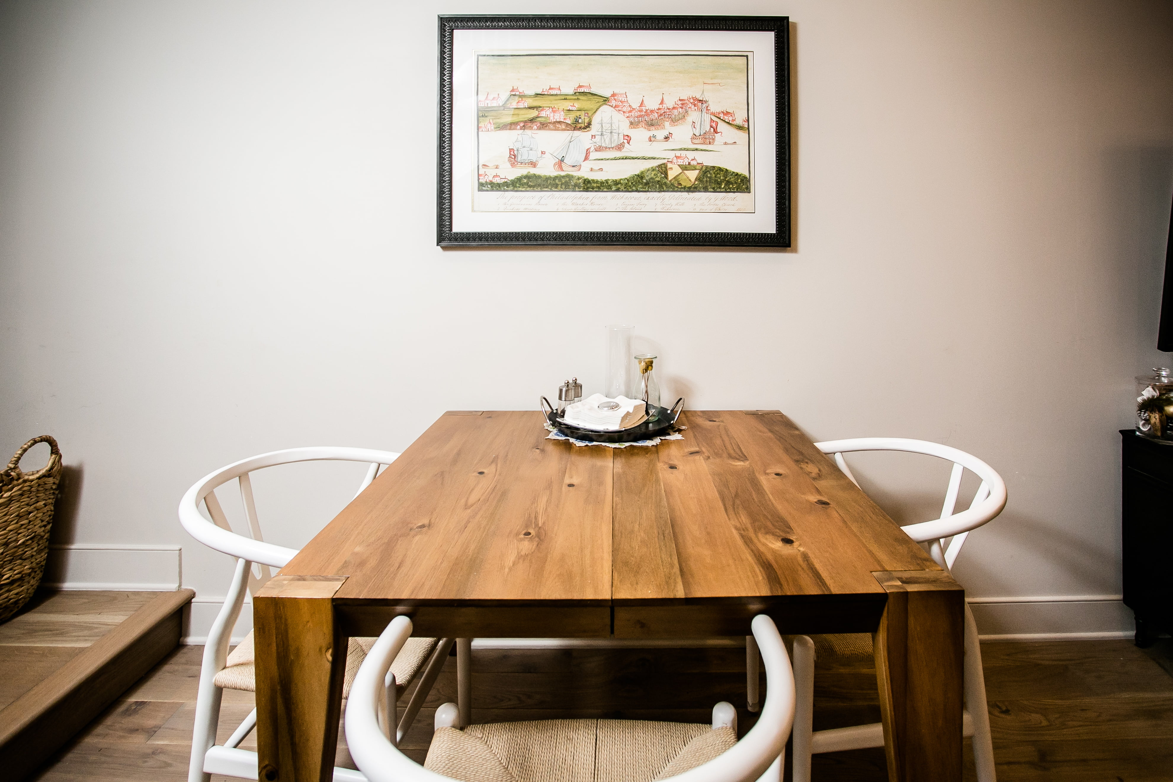 after renovation dining room