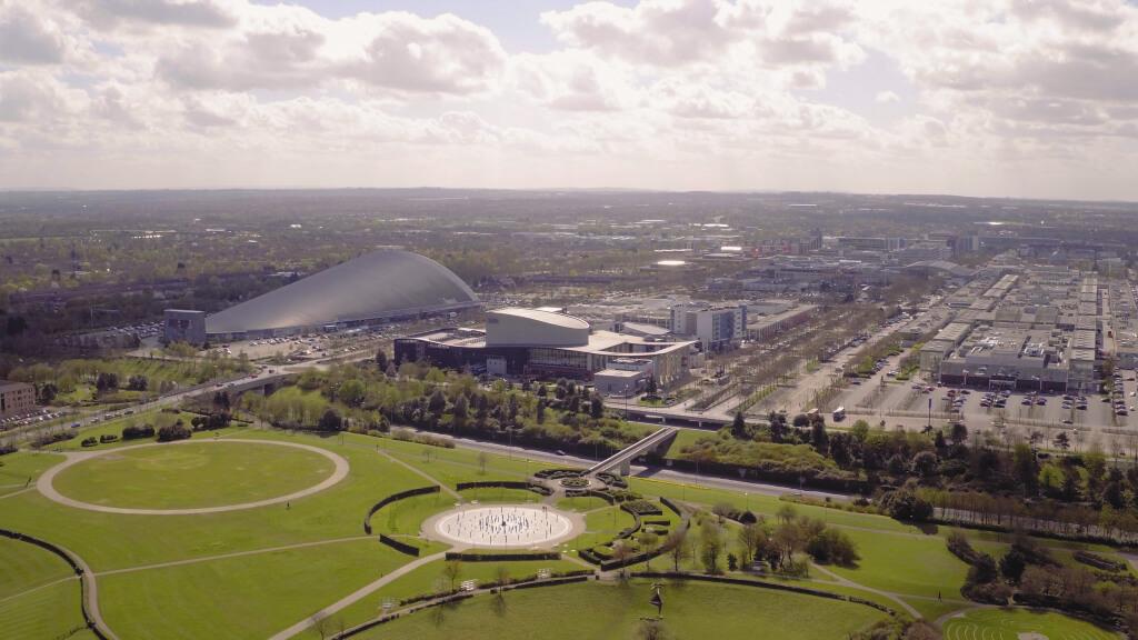Ariel view of Milton Keynes