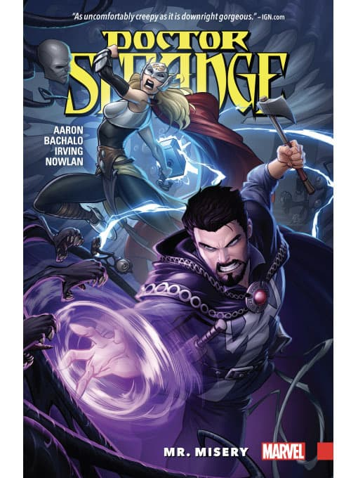 Dr Strange by Aaron Bachald and Irving Nowlan