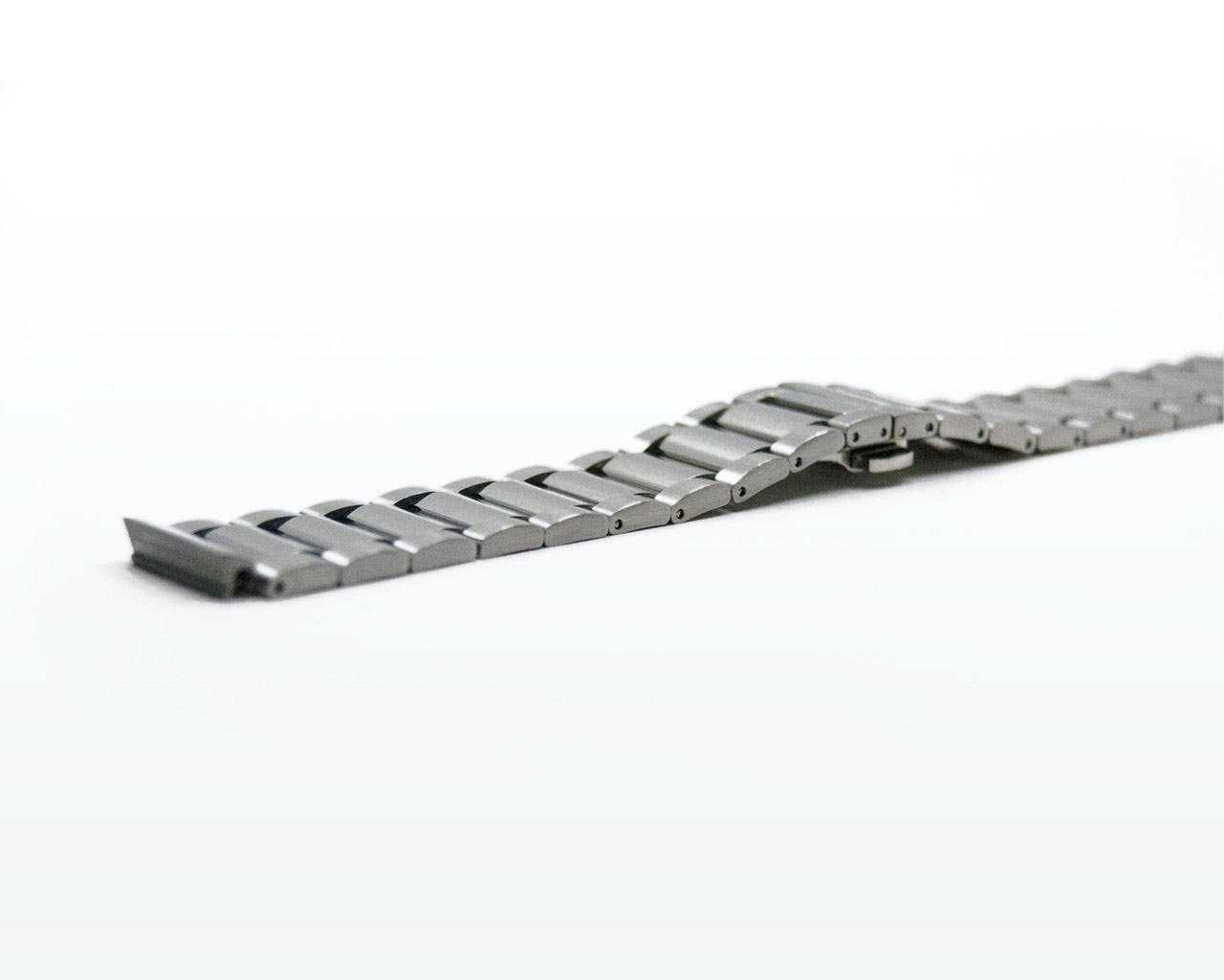 Silver strap for Representor - open