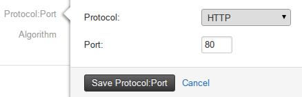 Rackspace Load Balancer Protocol