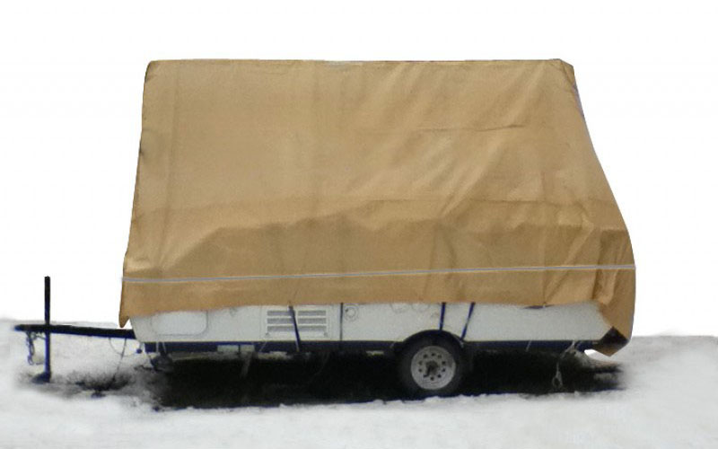 Navigloo Winter Cover for 8-14 foot trailers