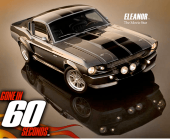 Ford Mustang Shelby GT 500 Eleanor 1967
