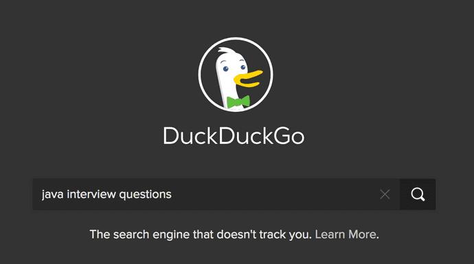 Search programming language