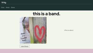 troy. the band Screenshot