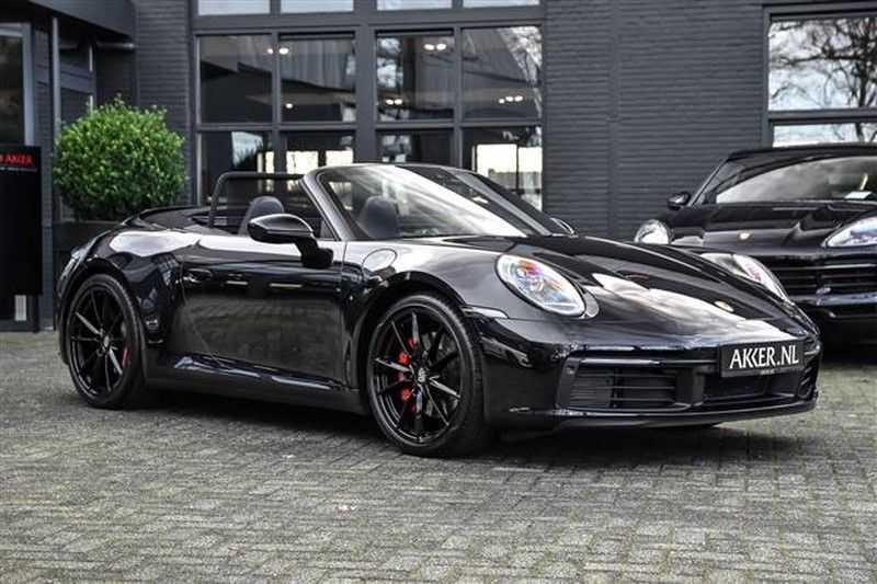 Porsche 911 992 4S CABRIO BOSE+SPORTUITLAAT+SPORT CHRONO afbeelding 23