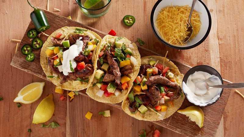 Tacos mexicanos: 5 salsas increíbles y fáciles