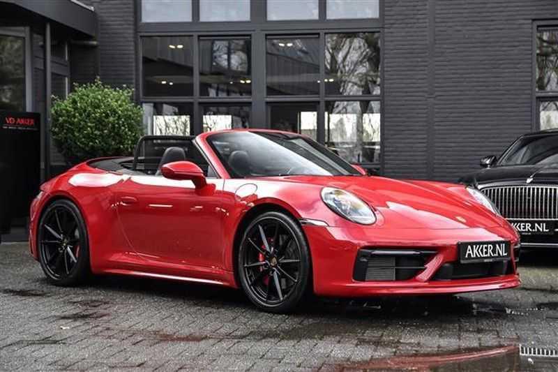 Porsche 911 4S CABRIO SPORTDESIGN+4WSTURING+SPORTCHRONO afbeelding 17