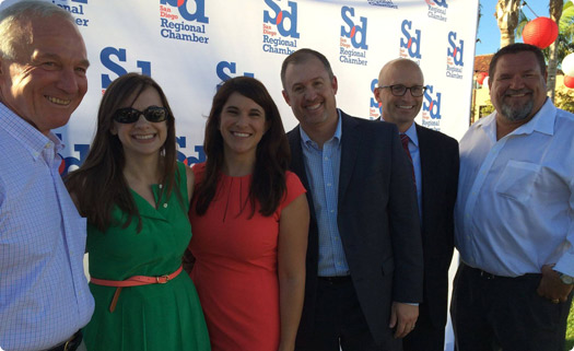 San Diego Regional Chamber of Commerce Event