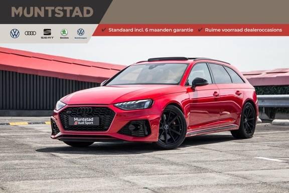 Audi A4 Avant 2.9 TFSI RS4 quattro   450PK   Sportonderstel Plus   Panoramadak   Inleg Carbon   B&O   Sportdifferentieel   Head-up