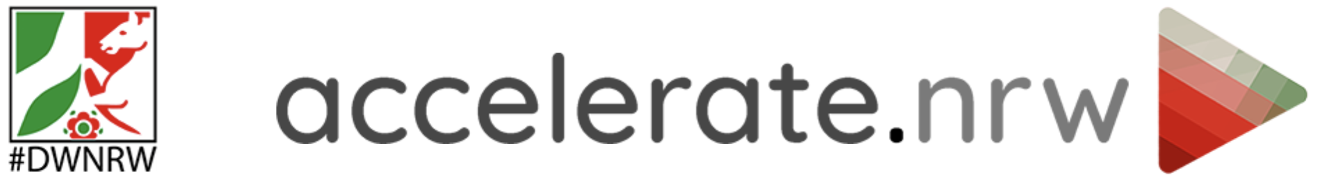 Logo accelerate.nrw