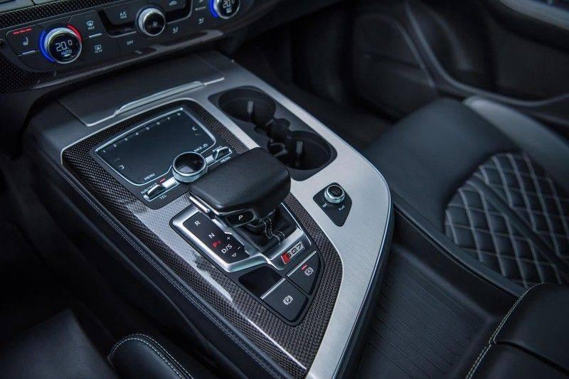 Audi SQ7 4.0 TDI Quattro Pro Line + , 435 PK, Valcona/Leder, Pano/Dak, 2017, Bose, 22'', Elekt. Trekhaak, 79DKM!! afbeelding 12