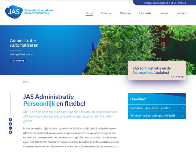 JAS administratie en Payt