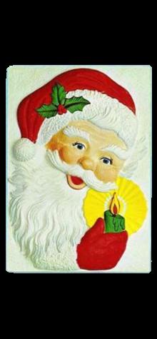 Santa Claus, Holding Candle photo