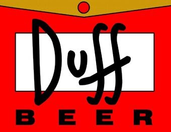 Duff Beer Logo.
