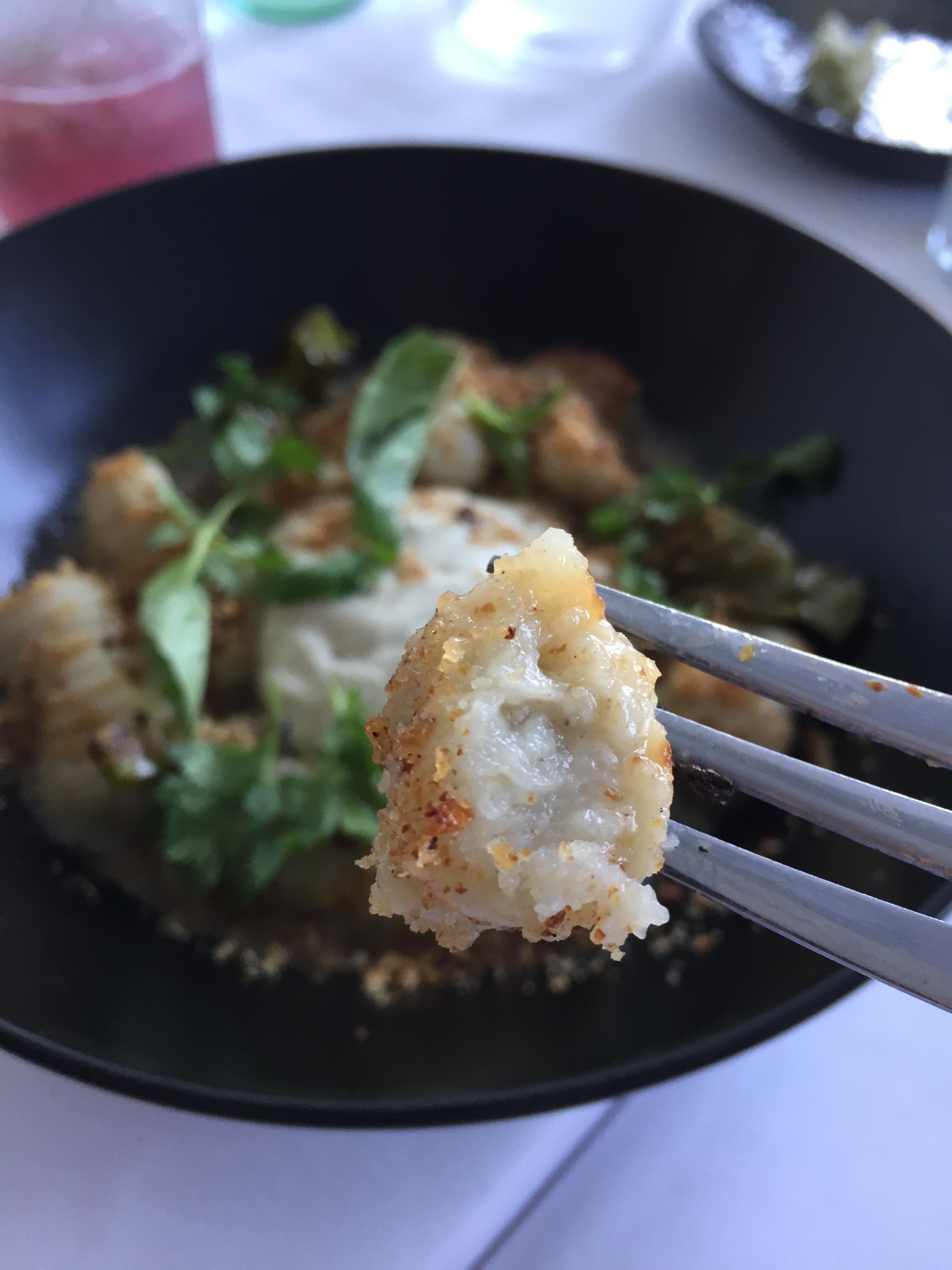 Vegan gnocchi from Cruciferous