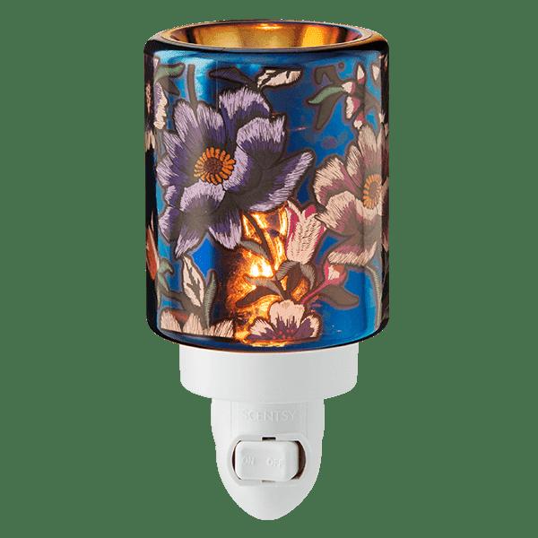 Midnight Floral Mini Warmer