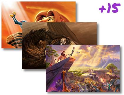 Lion King theme pack