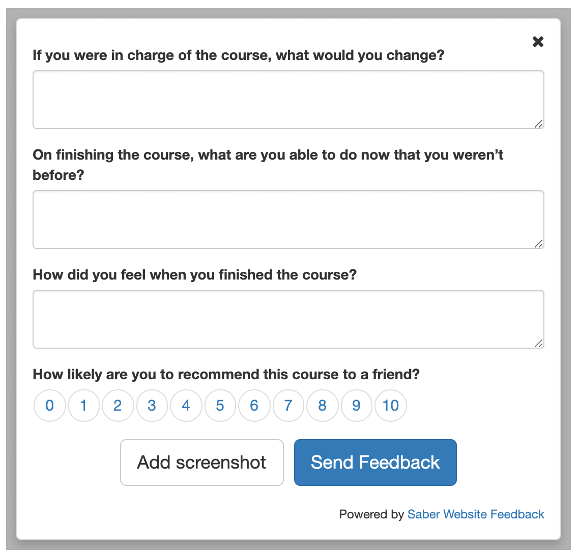 feedback button illustration