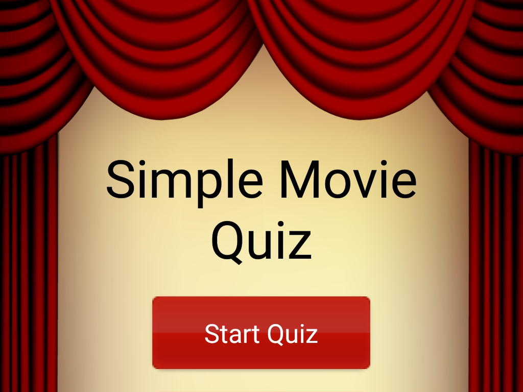 Simple Movie Quiz