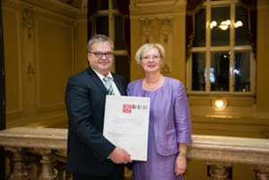 Top Trade Certificate for the company Schneeweiß