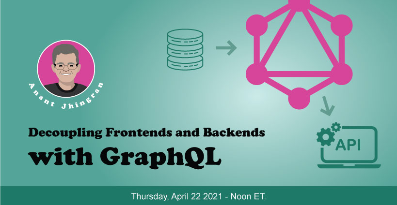 Banner for Decoupling Frontends and Backends with GraphQL