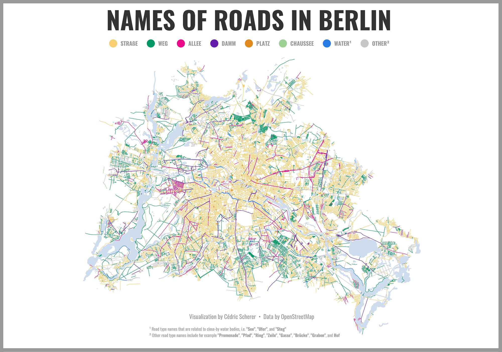 Berlin Road Names