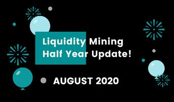 Liquidity mining: August recap