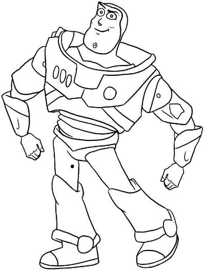 Buzz Lightyear Proud Sketch