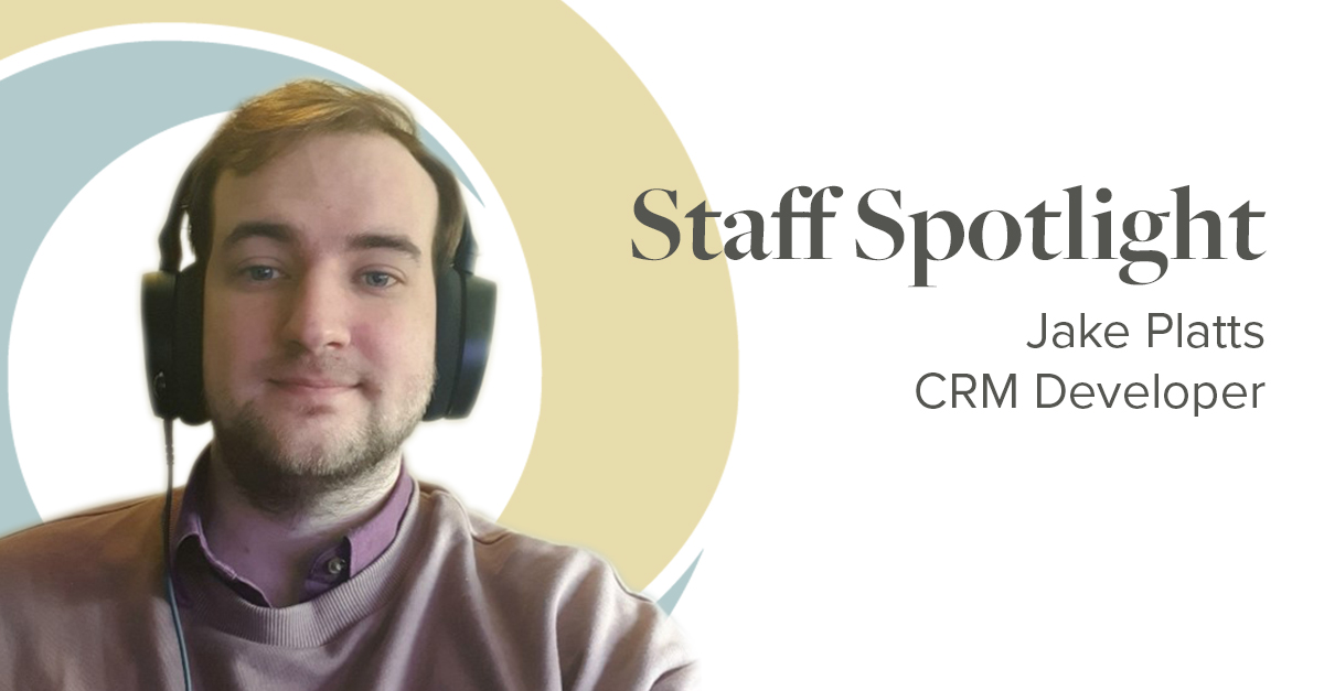 Staff Spotlight Jake Platts