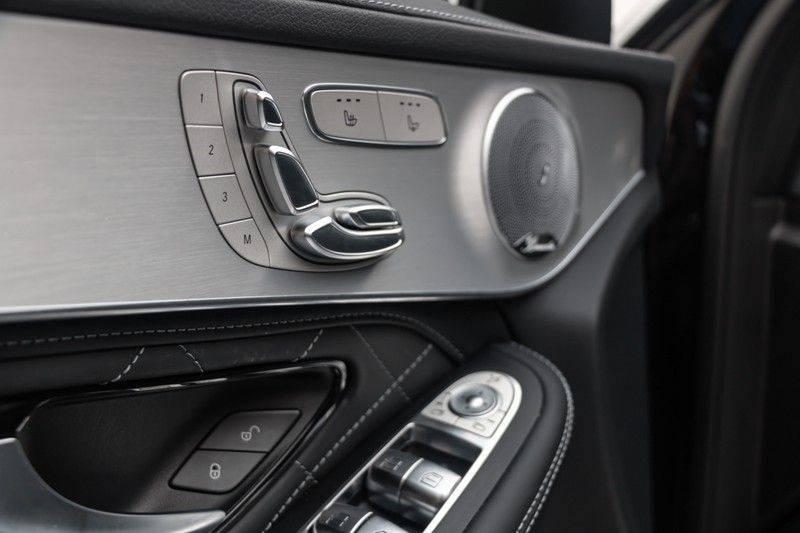 "Mercedes-Benz GLC GLC43 AMG 367pk 4Matic Panoramadak Luchtvering Nightpakket Distronic Keyless Burmester Sportleder+Memory Carbon AmbientLight ComandOnline 21"" Parktronic 360Camera Pdc afbeelding 15"